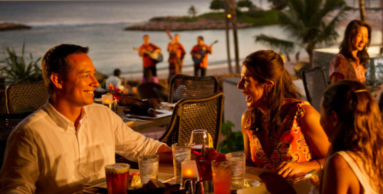 Tons of tasty options being served up at Disney's Aulani