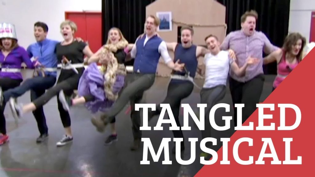 "California Life Takes You Behind the Scenes of the ""Tangled"" Musical"