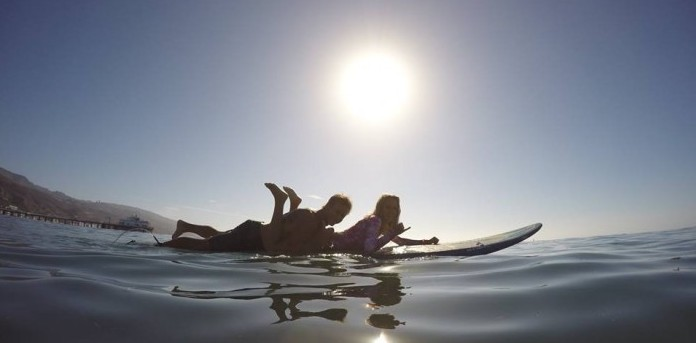 Pro Surfers Hit the Waves in Malibu to Help Children with Cystic Fibrosis