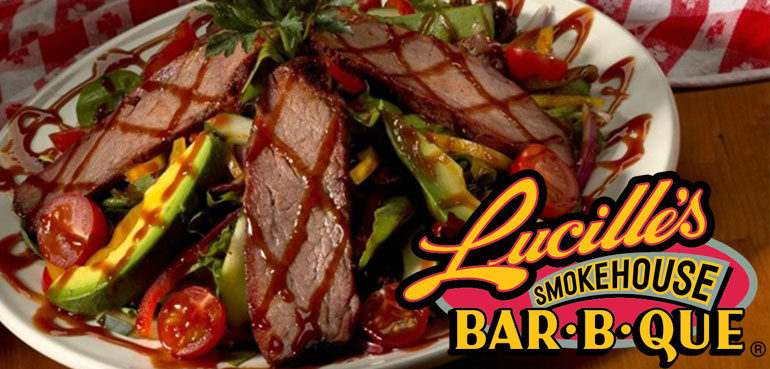 California Life Taste Tests New Healthy Menu at Lucille's Smokehouse Bar-B-Que