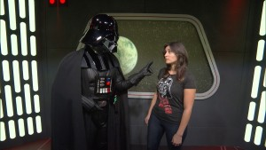 Audra Darth Vader