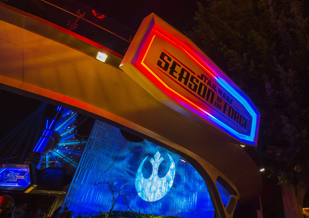 The Force is strong with Disneyland's holiday celebrations