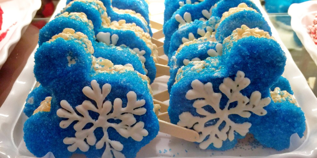 Disneyland's head candy maker shares Frozen-inspired holiday treat