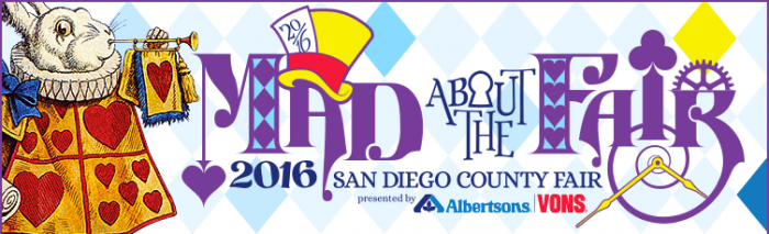 "Go ""mad"" at the San Diego County Fair starting today!"