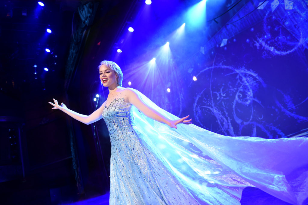 "Disney Cruise Line rehearsing new ""Frozen"" musical"