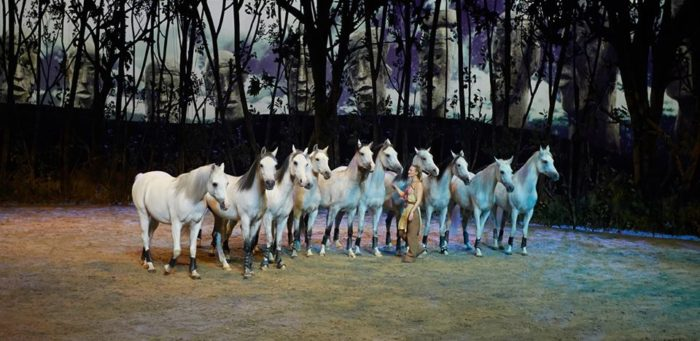 Cavalia's ODYSSEO returns to the White Big Top in Irvine for the holidays