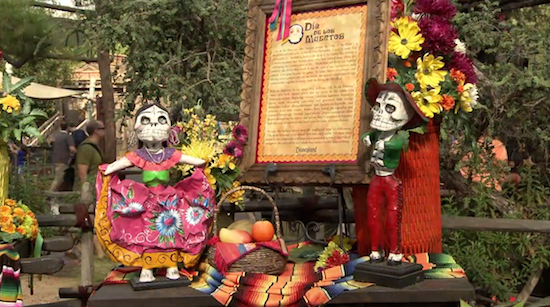 Celebrating Dia de los Muertos with a Disney twist