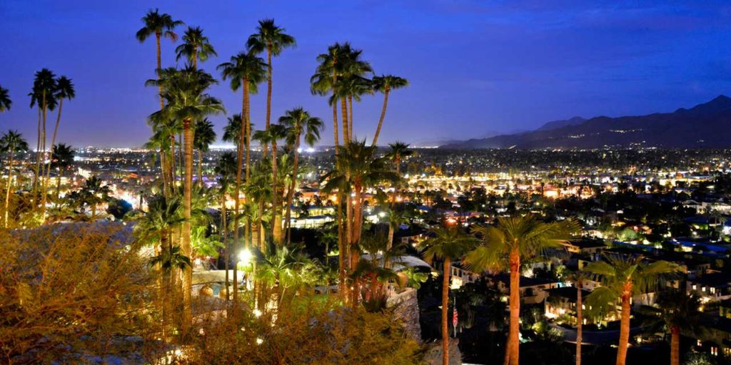 Say hello to Palm Springs from a new, updated look to it's glamorous Hollywood history