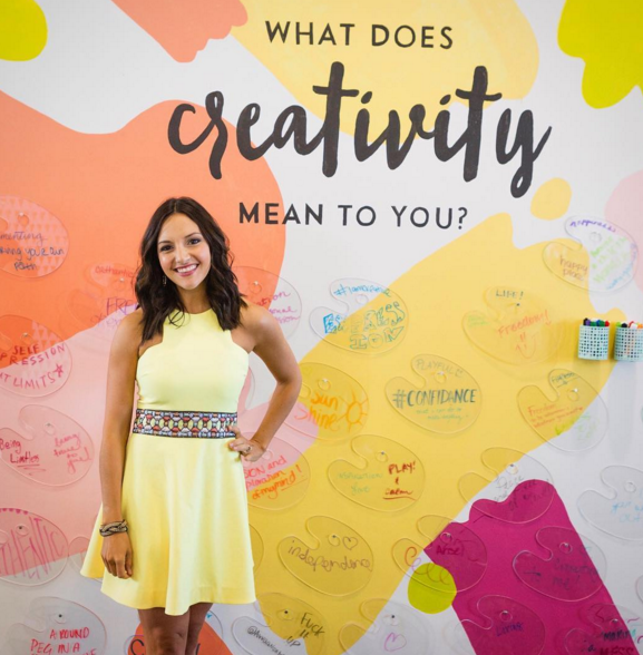 Blogger Brit Morin says unleashing your inner-creativity is the secret to your next DYI project