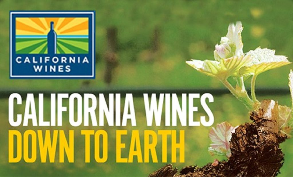 "Make a toast to ""going green"" during California Wines: Down to Earth Month"