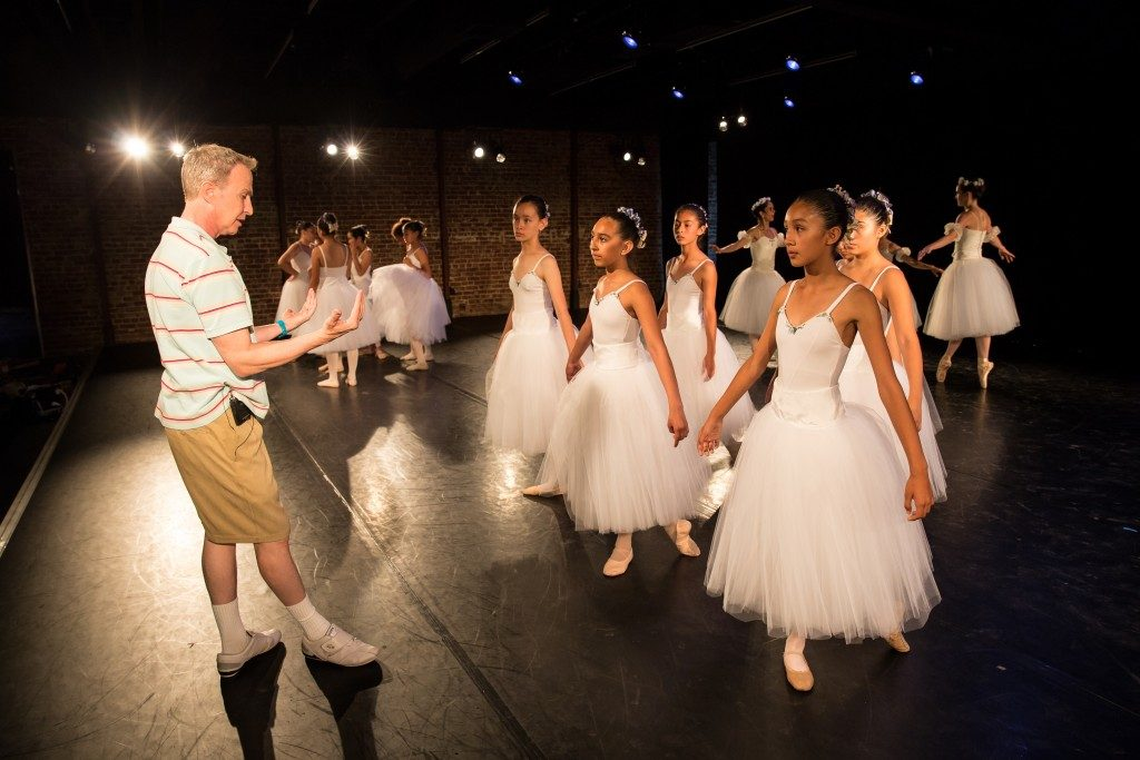 Ballet studio holds free classes as an after school program for children in Los Angeles