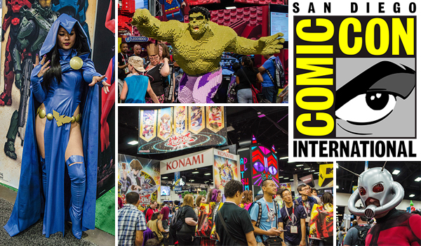 Exclusives and must-see debuts for year's Comic-Con International: San Diego!