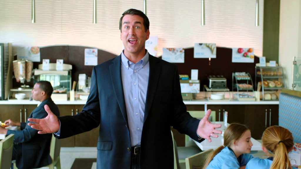 "Actor and comedian Rob Riggle tells California Life how to be the ""readiest"""