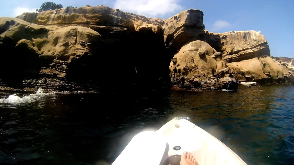 Exploring the Famous La Jolla Sea Caves