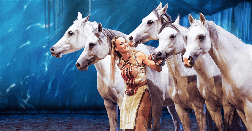 """Wow"" Friends And Family With Tickets To ""Odysseo"" By Cavalia – Playing in Camarillo Now Through January 21st"
