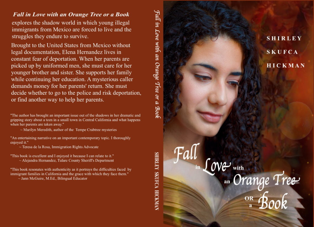 Spring Break Read: Fall in Love with an Orange Tree or a Book by California Author Shirley Hickman