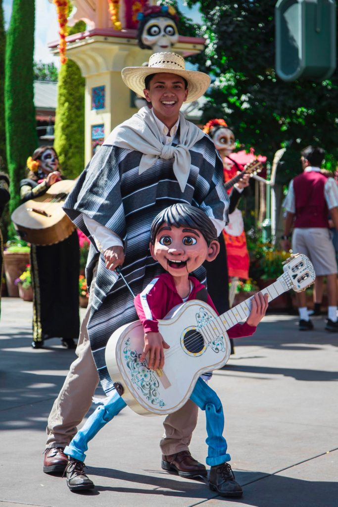 Academy Award Winning Pixar Film Coco Comes to Life at Disney California Adventure Park's Plaza de la Familia