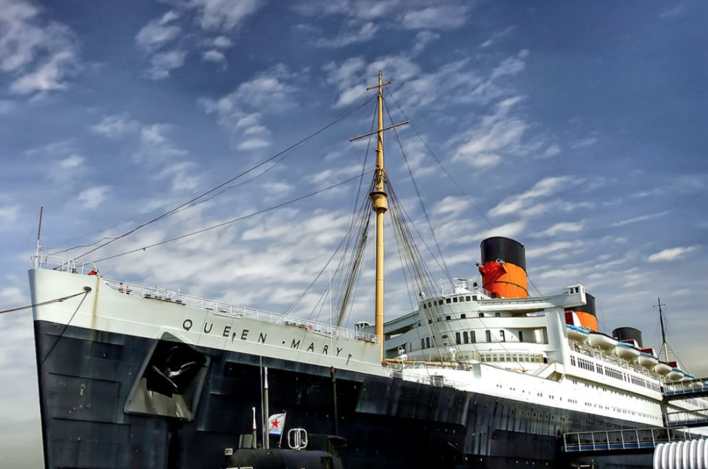 Climb Aboard the Queen Mary – One of the Top 10 Most Haunted Places in America
