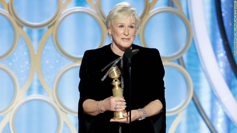 Glenn Close Earns Standing Ovation at Golden Globes with Message to Women