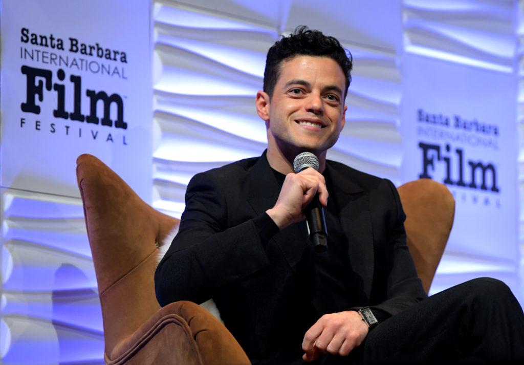 Rami Malek Accepts the Outstanding Performer of the Year Award @ SBIFF