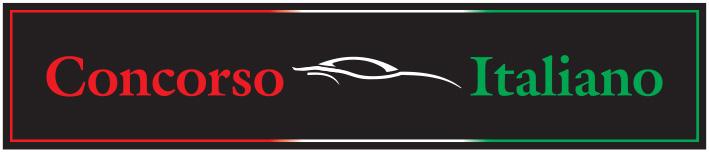Check out Concorso Italiano's 1,000+ vehicles of Italian Origin.