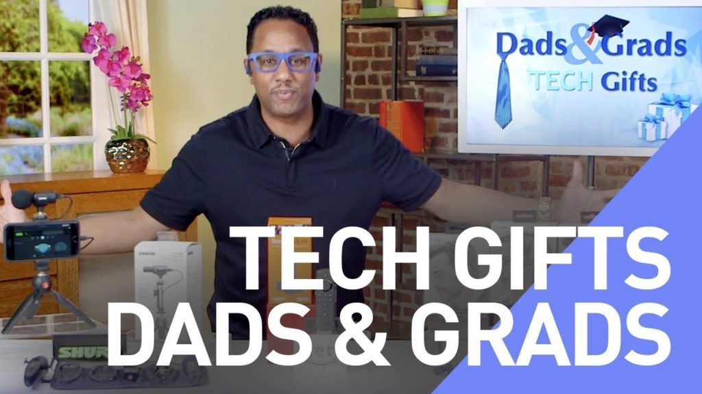 Check Out Some of these Perfect Tech Gifts for Father's Day and Recent Graduates.