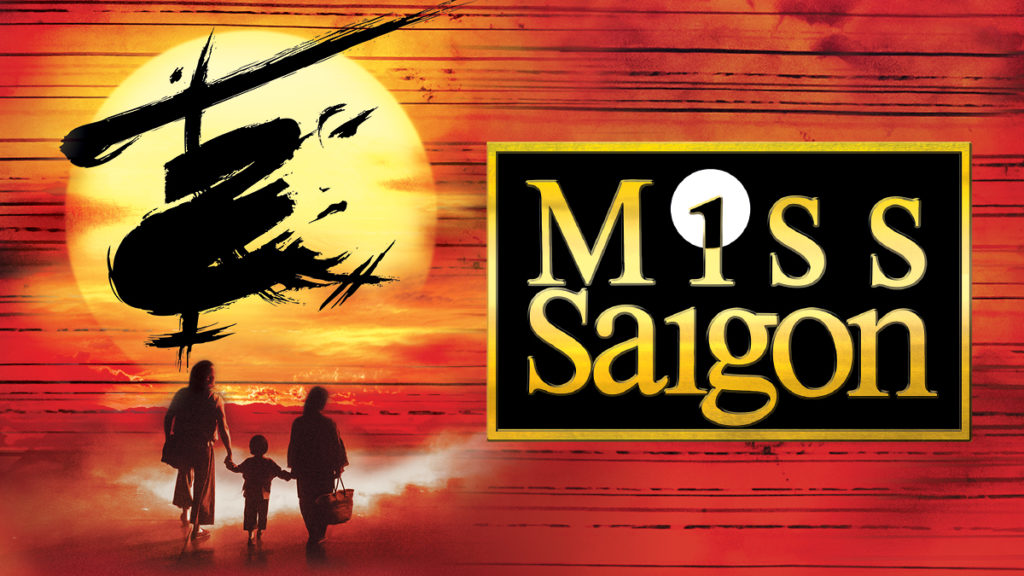 See Miss Saigon at the San Diego Civic Theater July 9-14!