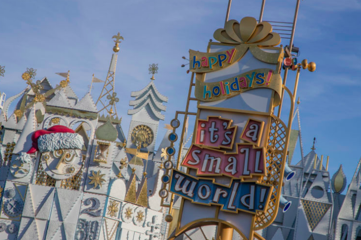 "Disneyland Resort brings Holiday Traditions from Around the World to ""it's a small world"" Holiday: Fun Facts"