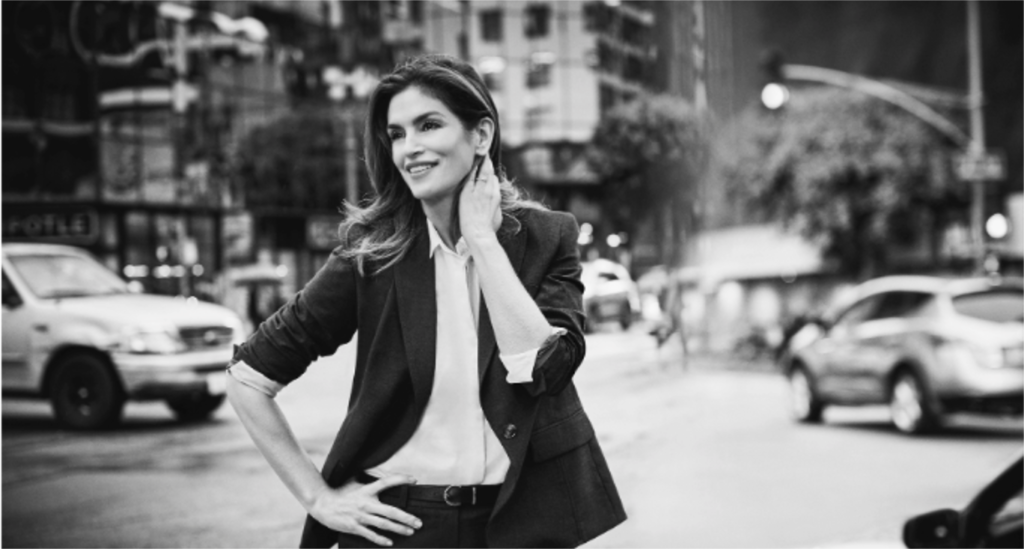 JONES NEW YORK JOINS FORCES WITH CINDY CRAWFORD