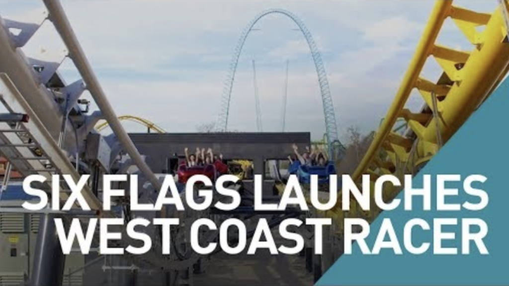 Six Flags Magic Mountain Launches New Coaster, West Coast Racers
