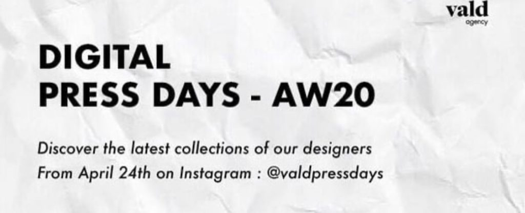 Don't Forget: Digital Press Days For AW20 Paris Fashion Week Is Here