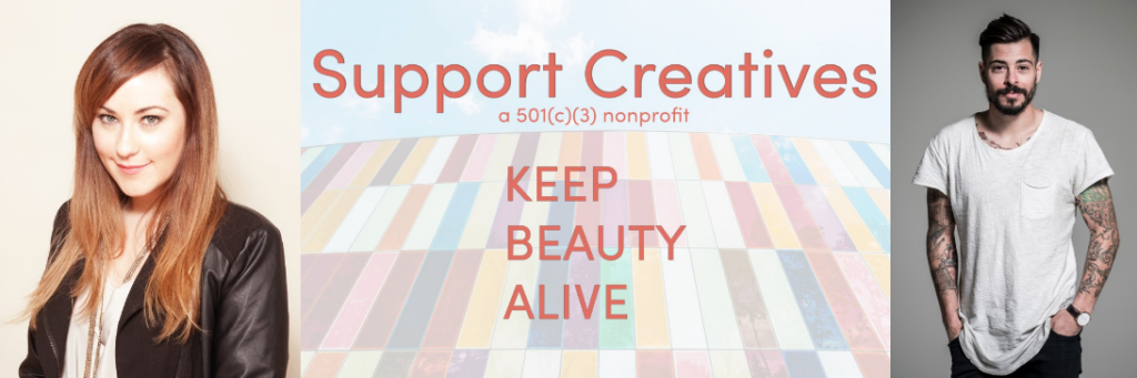 Keeping Beauty Alive: Support Creatives, New Non-profit Gives Artists Opportunities for Growth During Trying Times