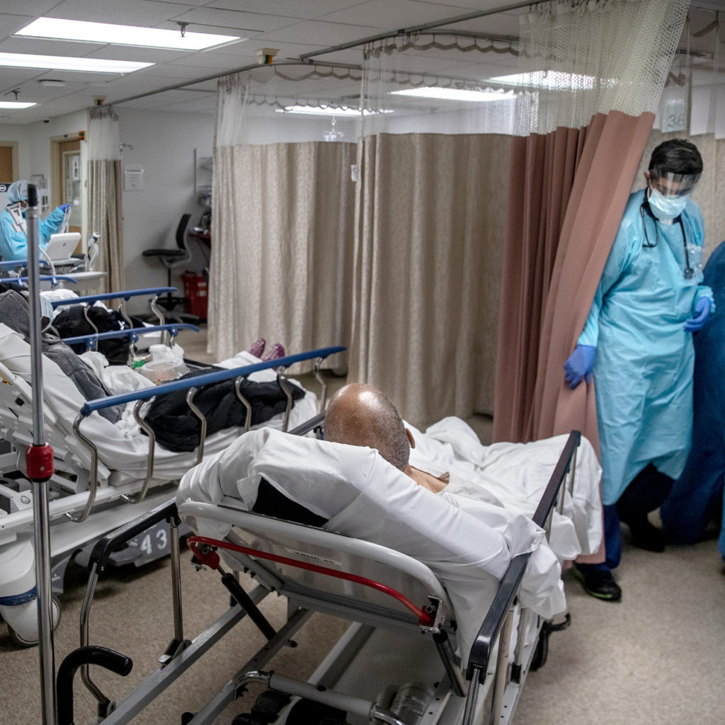 How COVID-19's US fatalities compare to America's worst flu seasons