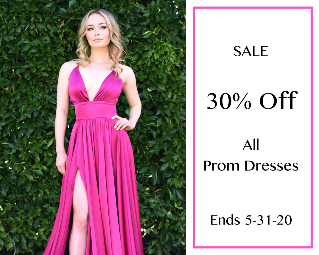Prom Sale! 30% off all Prom dresses