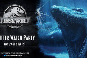 Universal Studios Hollywood Celebrates National Dinosaur Day with a JURASSIC WORLD Watch Party on Twitter