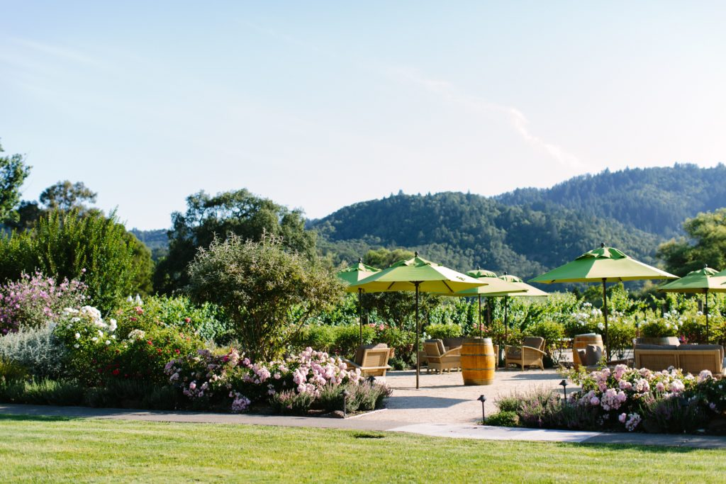 Elope With Four Guests at Brix Napa Valley