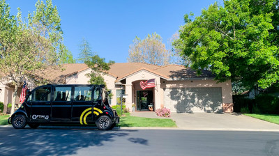 Self-Driving Vehicle System Assists Life Plan Community During COVID-19 Pandemic