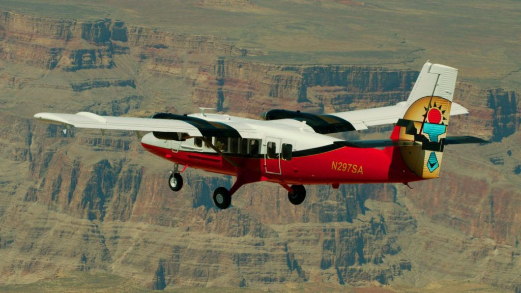 GRAND CANYON SCENIC AIRLINES HAS REOPENED ITS DOORS FOR FLIGHTS