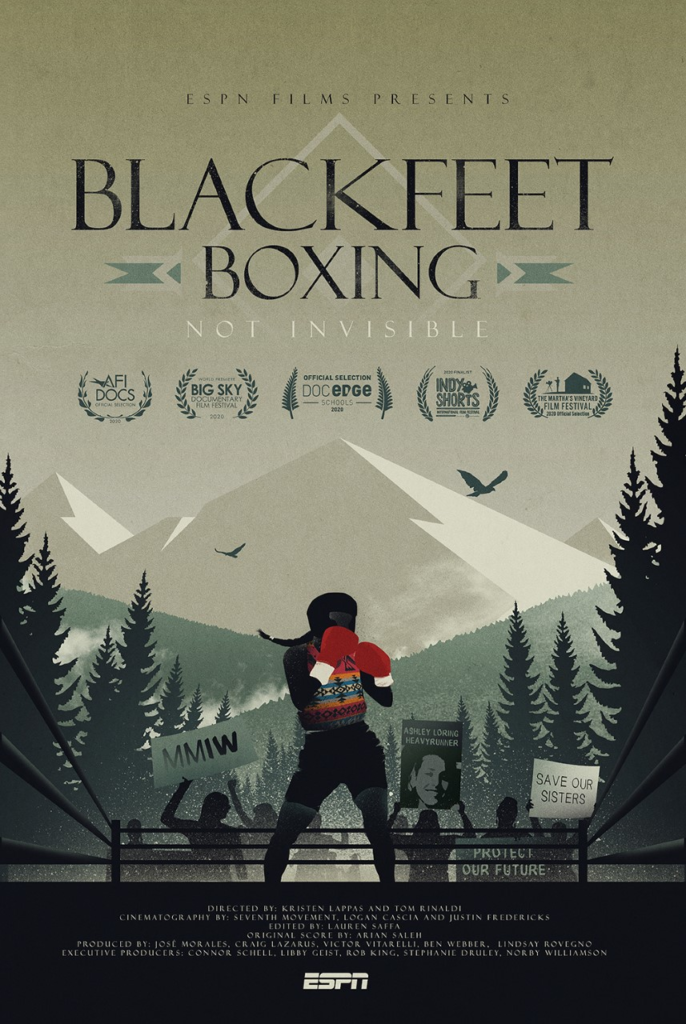 BLACKFEET BOXING: NOT INVISIBLE airs on ESPN on June 30
