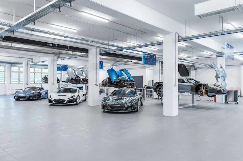 Rimac Reveals All-New Production Line as C_Two Prototype Production Accelerates