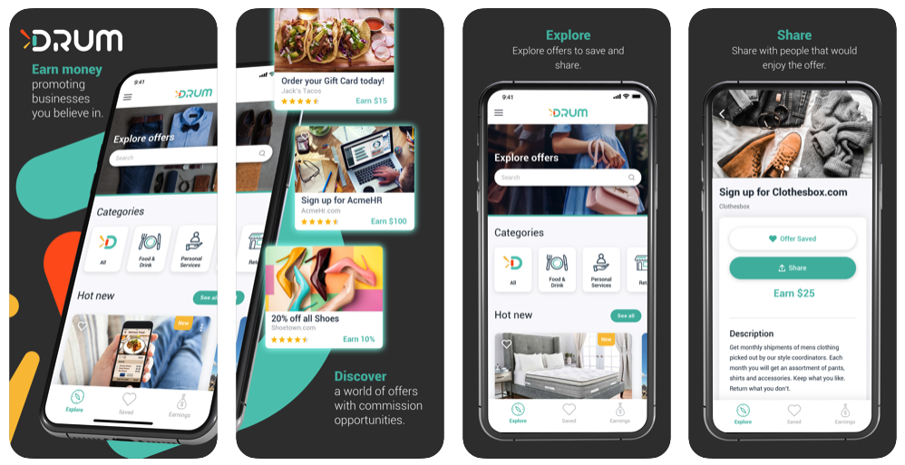 Business App, Drum, Offers New Ways for Side Hustling Opportunity