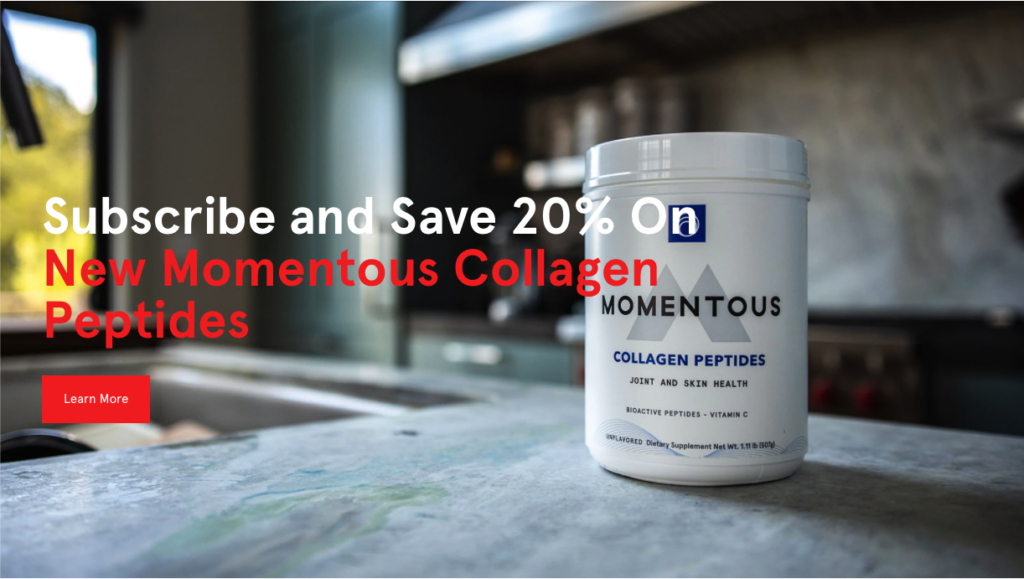 Momentous Releases Performance Collagen Product Scientifically Proven to Reduce Pain, Support Joint Health, and Increase Cartilage Mass