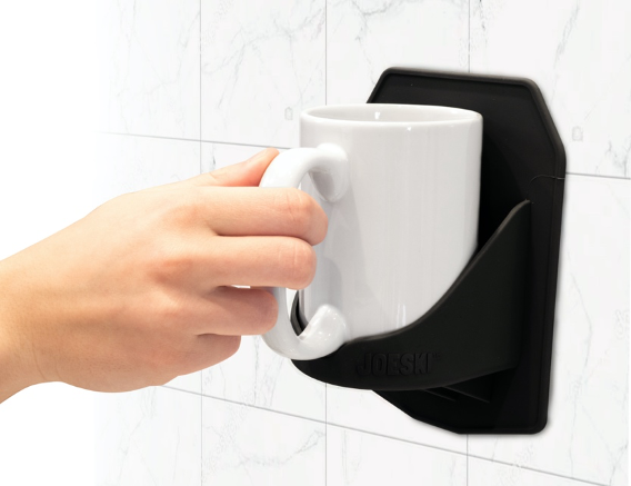 Save Time in The Morning by Enjoying Coffee in the Shower