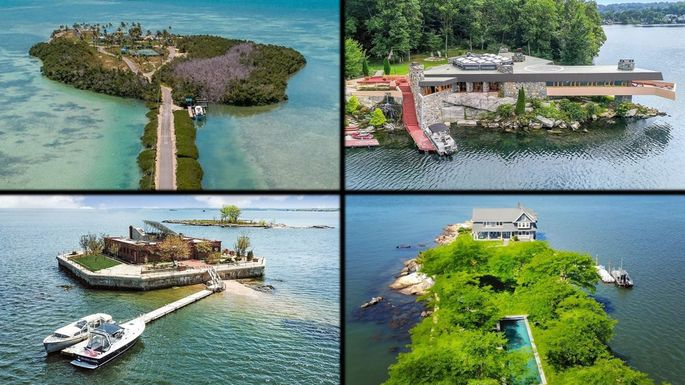 10 Private Islands for Sale Right Now