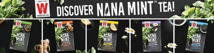 Exotic North Middle Eastern Mint Variety Puts a Refreshing New Spin on All-Natural Green, Black, and Herbal Teas