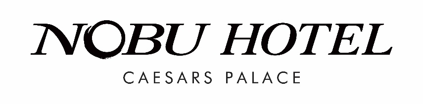 Nobu Hotel Caesars Palace in Las Vegas Now Open