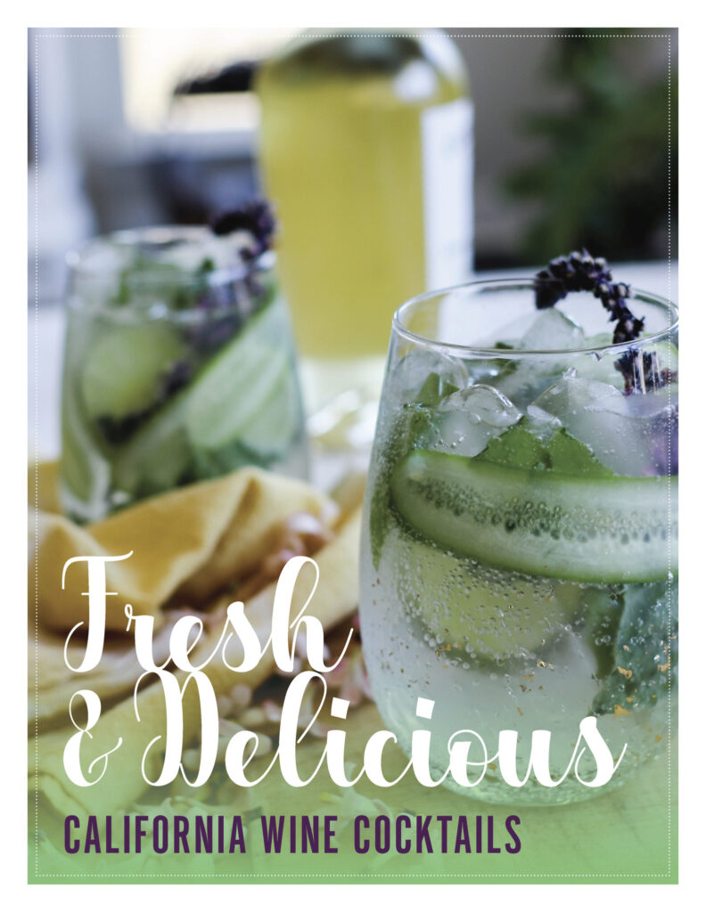 Celebrate National White Wine Day with Unique & Refreshing California White Wine Cocktails
