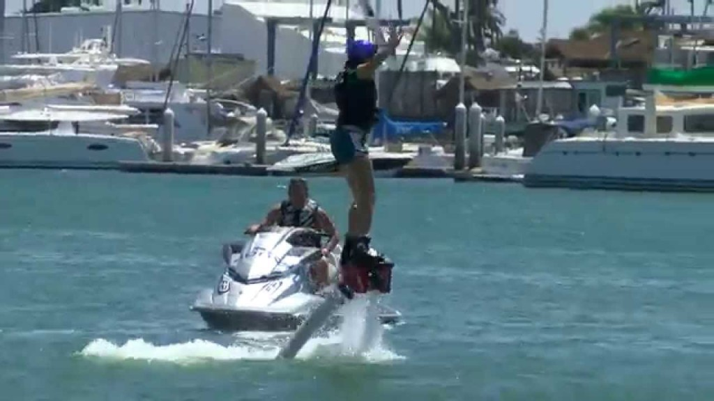 California Life Takes You Flyboarding on San Diego Bay!