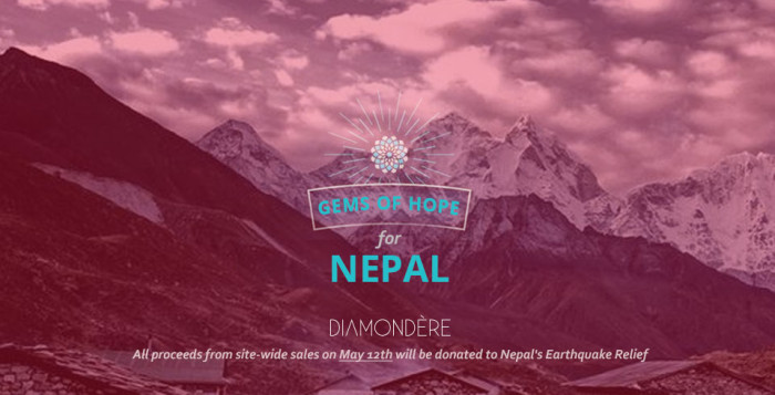 Join the #gemsofhope Campaign to Help Nepal Quake Victims