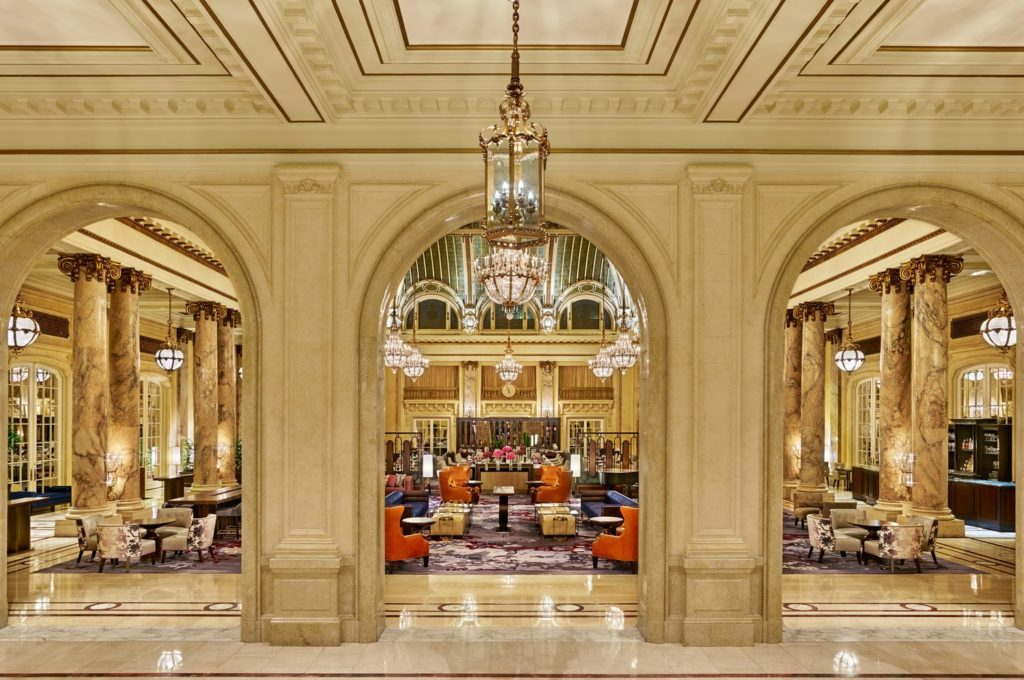 Historic Luxury at The Palace Hotel in San Francisco